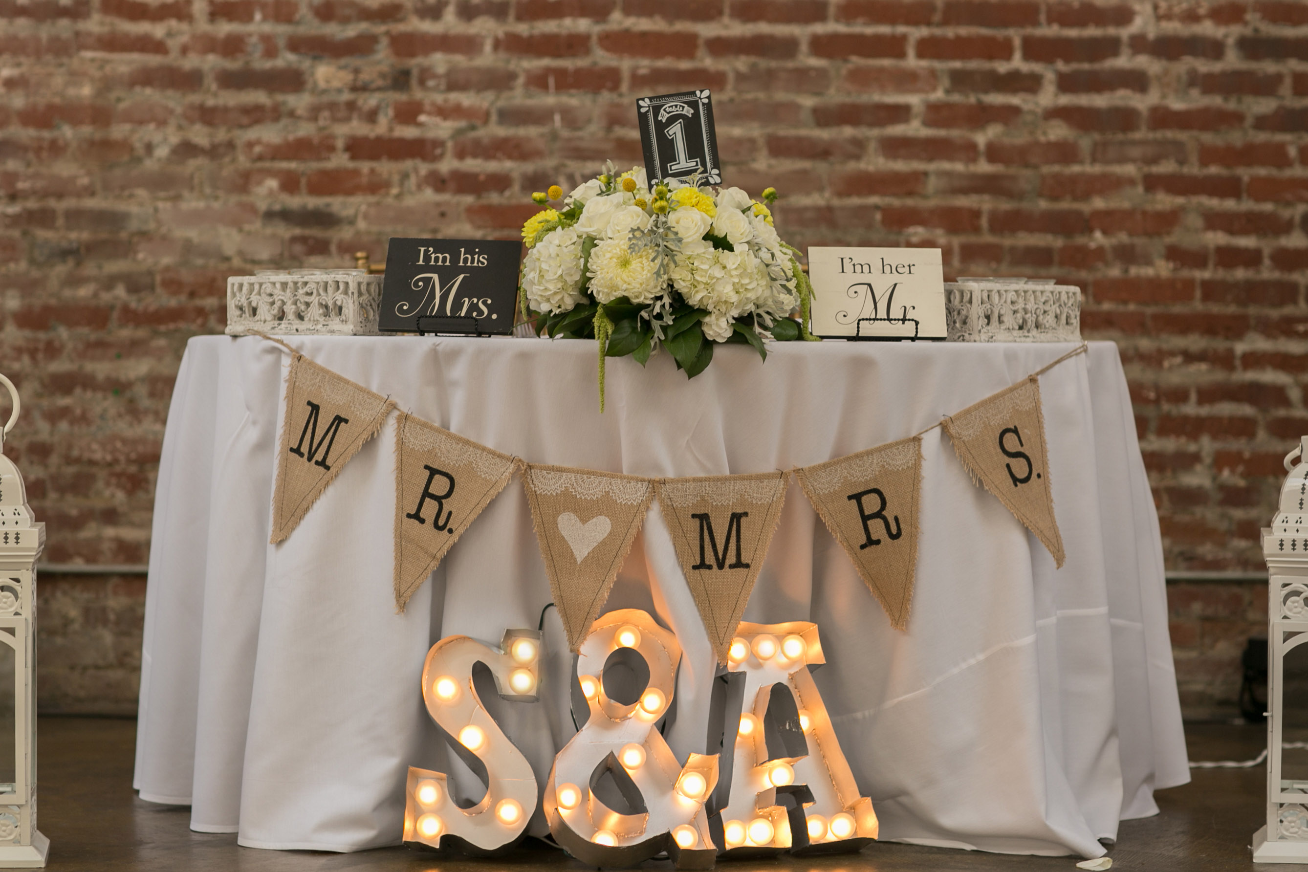 Diy Wedding Letter Marquee